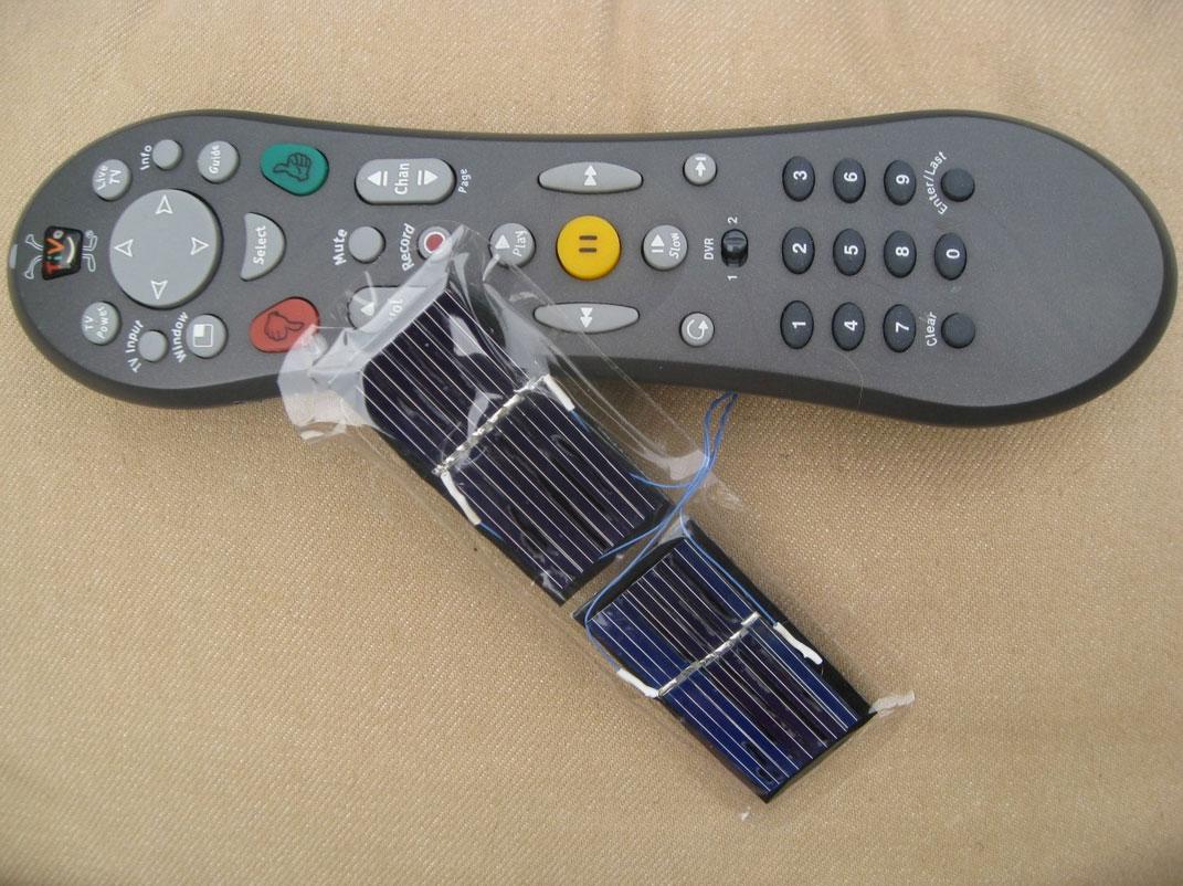 Solar TV Remote
