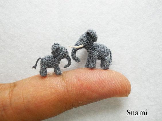 The Miniature Crochet Animals of Su Ami