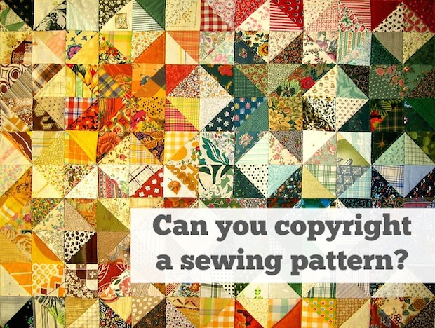 Business Basics: Can You Copyright a Sewing Pattern?