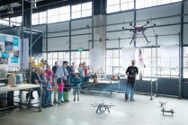 Flying robots! Photographer Nick Bookelaar