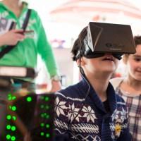Oculus Rift demos. Photographer Leo Bakx