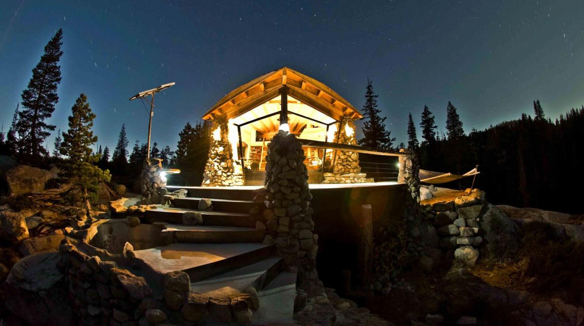 Pro Snowboarder Mike Basich's Off-Grid DIY Home in the Sierras