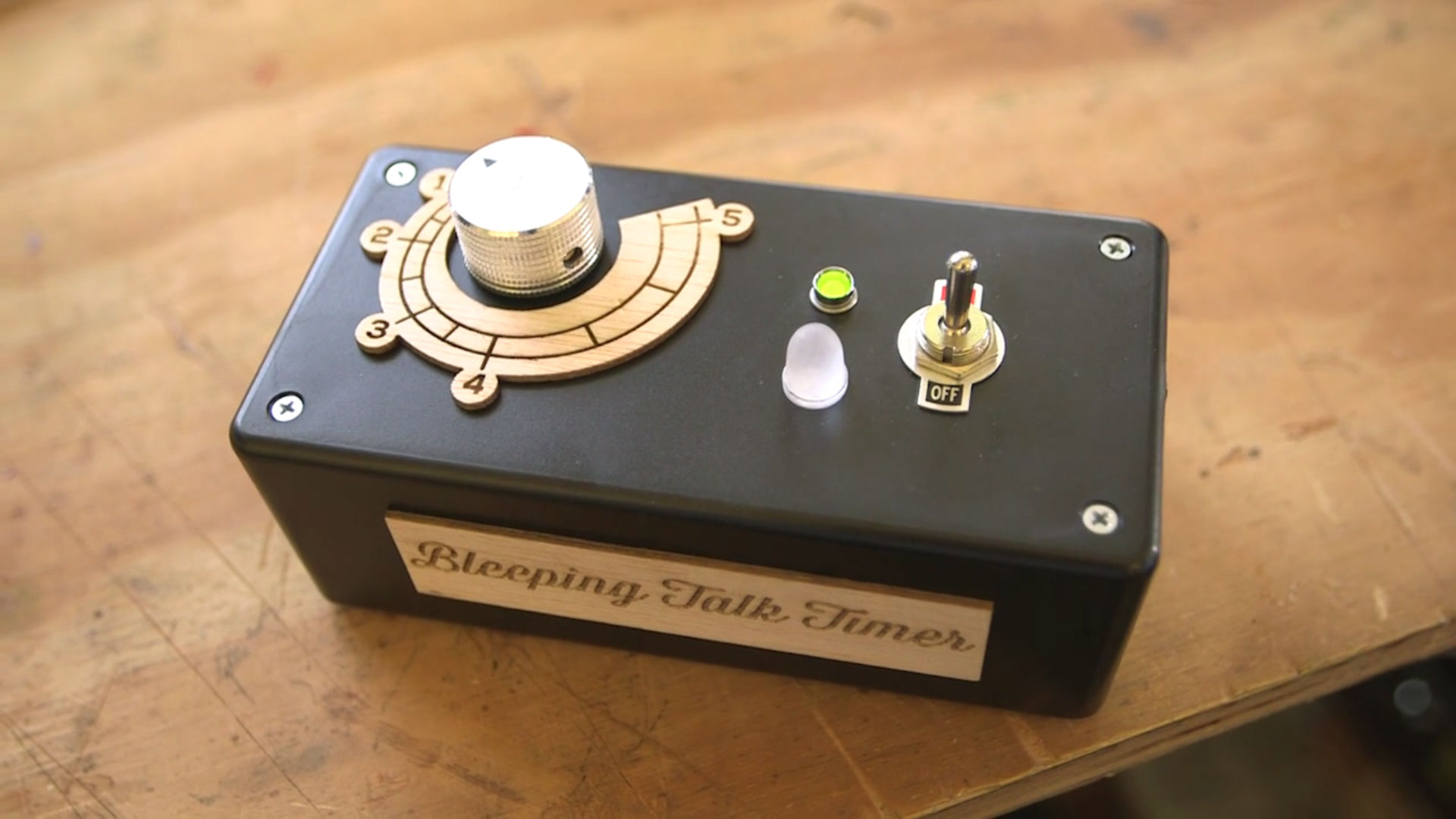 Bleeping Talk Timer | Make:
