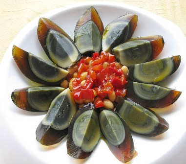 The Century Egg is a preserved egg, meant to last a hundred years.