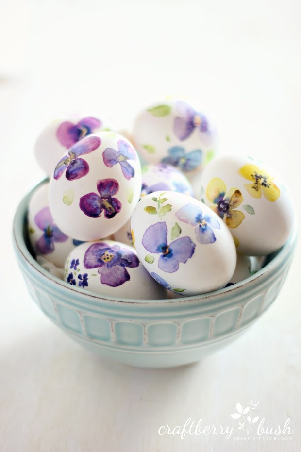Easter Inspiration: Watercolor Eggs