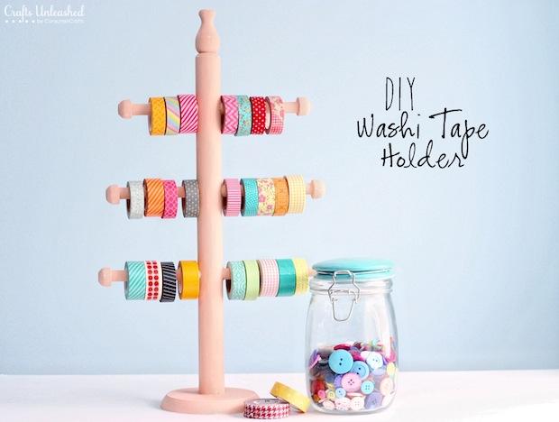 Organize It: DIY Washi Tape Storage