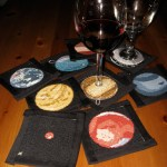 Nerdy Needle made this set of cross-stitch solar system coasters based on images, mostly from the Hubble space telescope, and has the patterns posted and CC-licensed for everyone to use.
