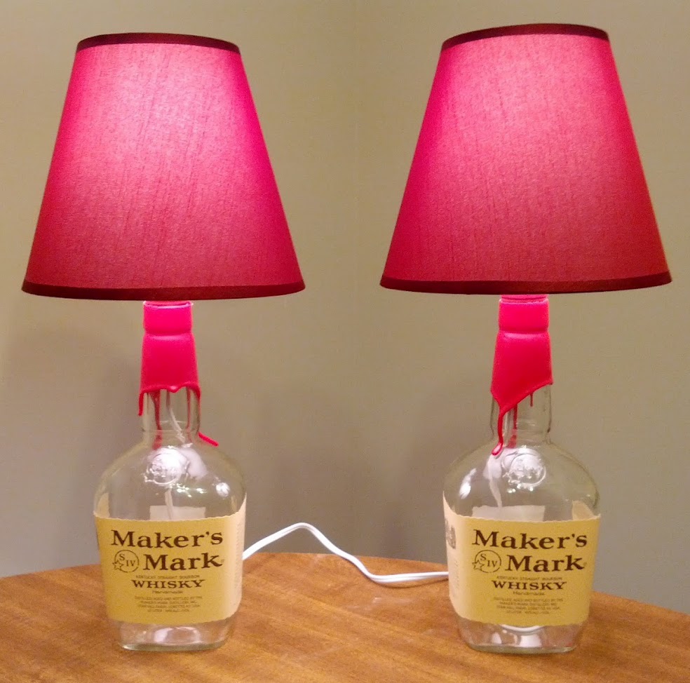 How-To: DIY Bottle Lamps   Make: