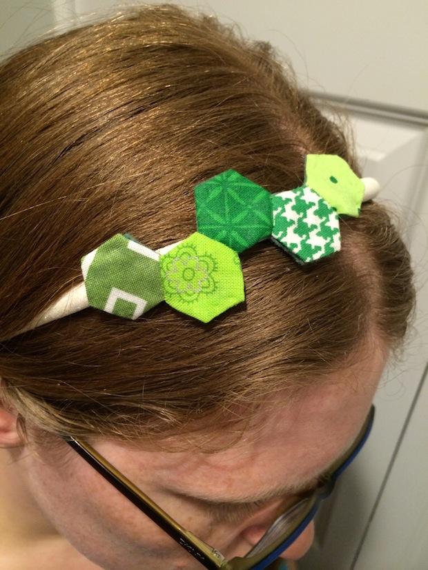 How-To: Hexagon Headband