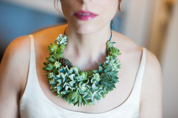 Live Succulent Jewelry