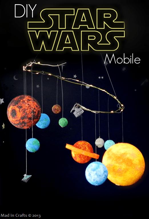 Geek Decor: Star Wars Planet Mobile