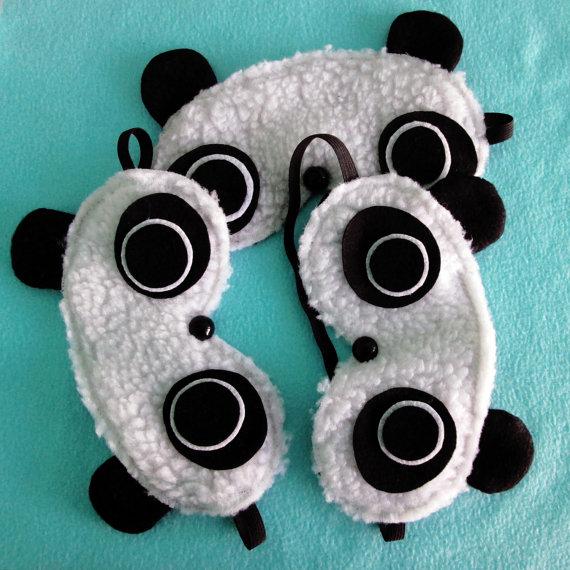 Handmade Panda Sleep Mask