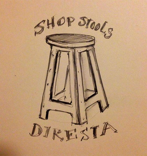 DiResta: Shop Stools