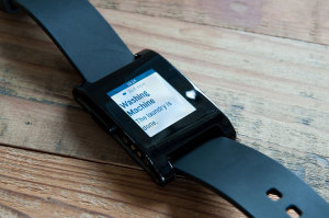 Pebble SMS Notification