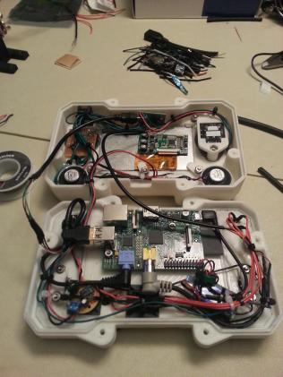 103 - Wiring finished ready to close up