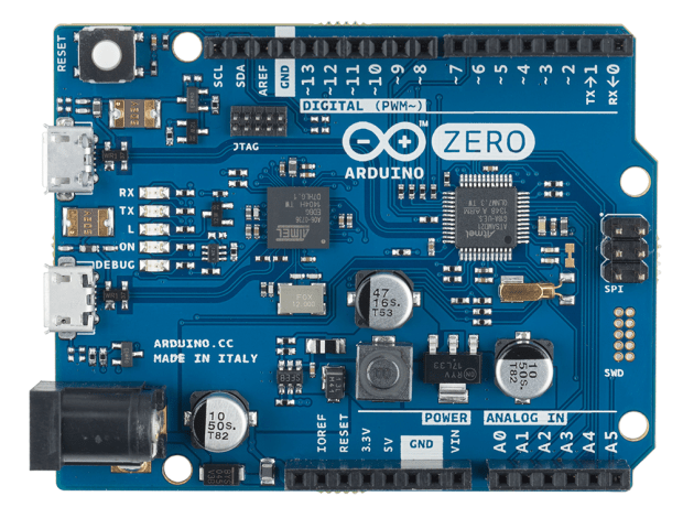First Look at the New Arduino Zero