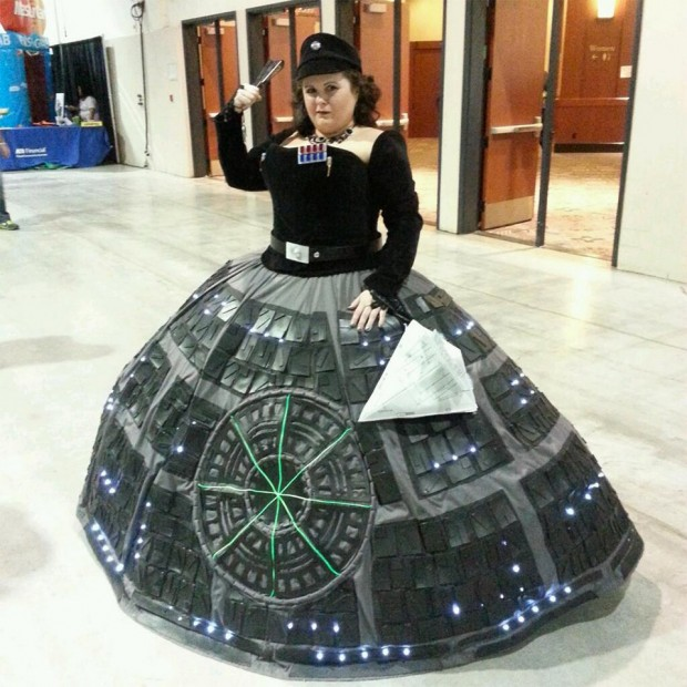 Death Star Gown