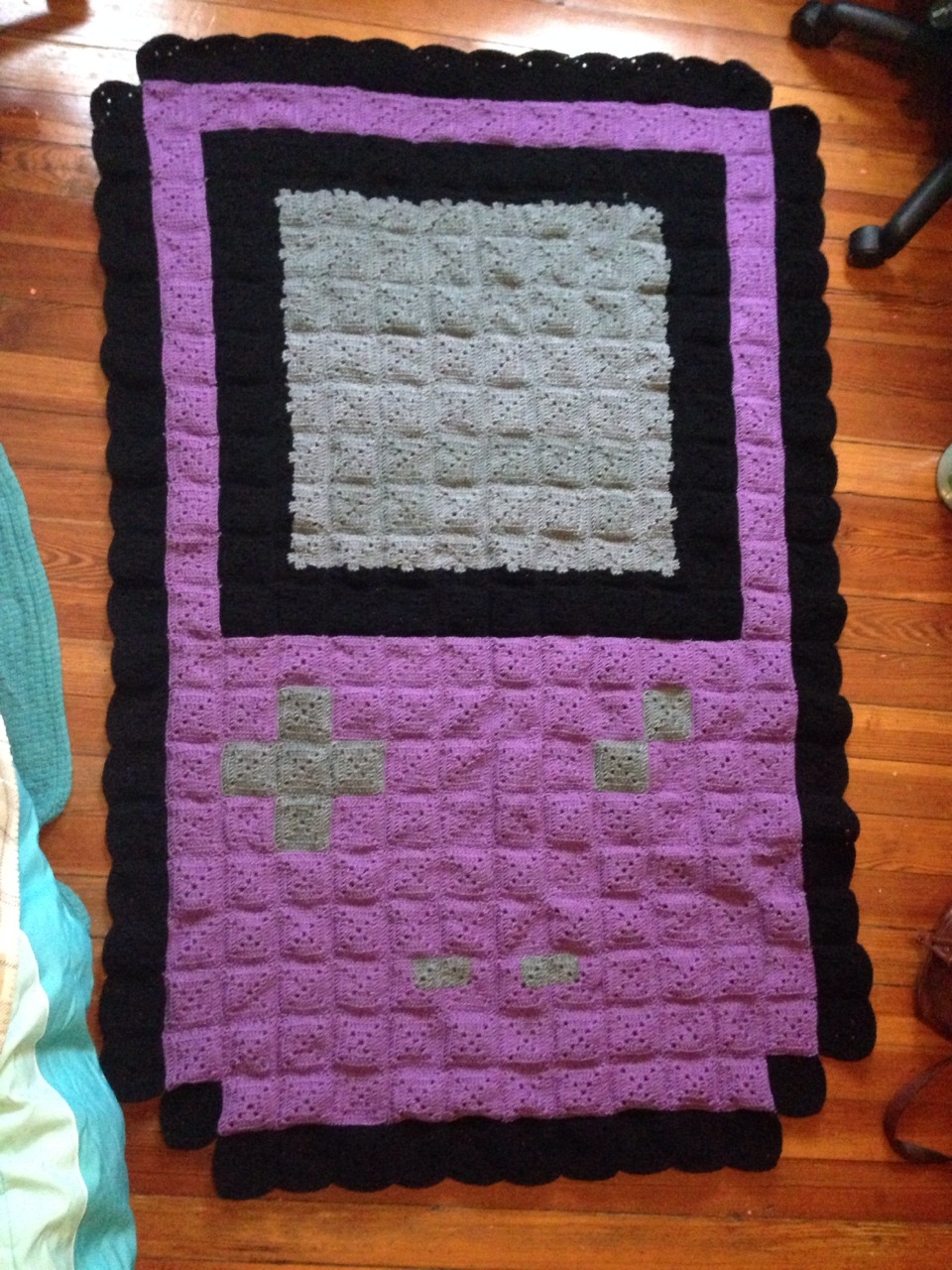 Gameboy Blanket Anniversary Gift