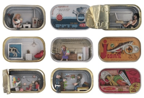Nathalie Alony's Tiny Homes in Sardine Cans