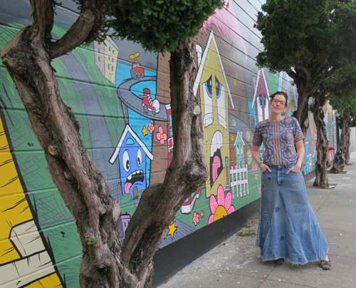 Turn Recycled Jeans into Skirts This Weekend at Maker Faire Bay Area