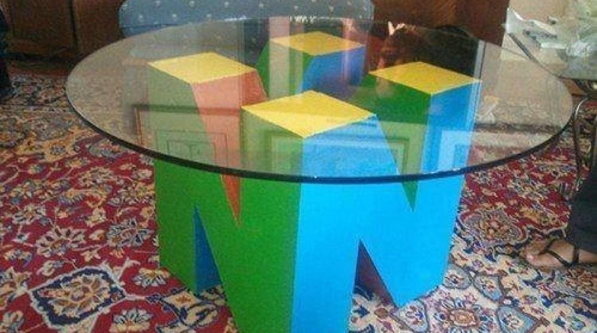 Nintendo 64 Logo Table