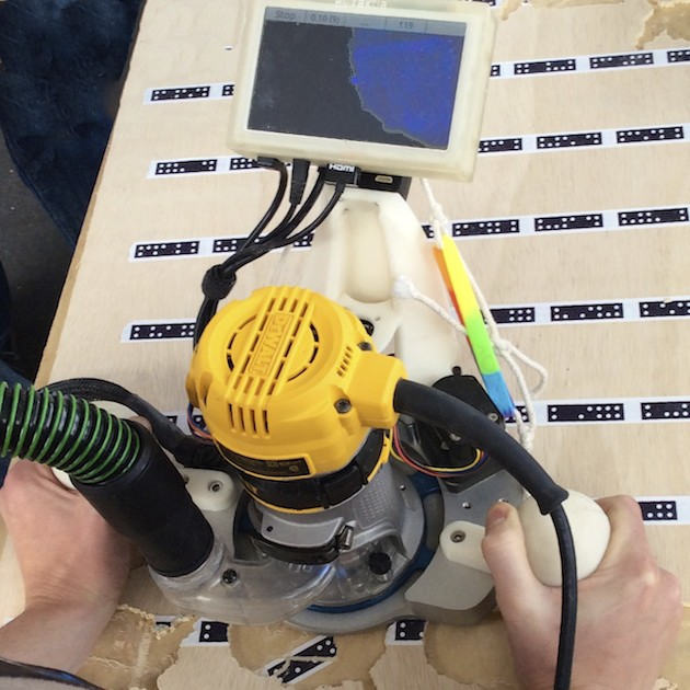 Taktia – Digitally Augmented Power Tools