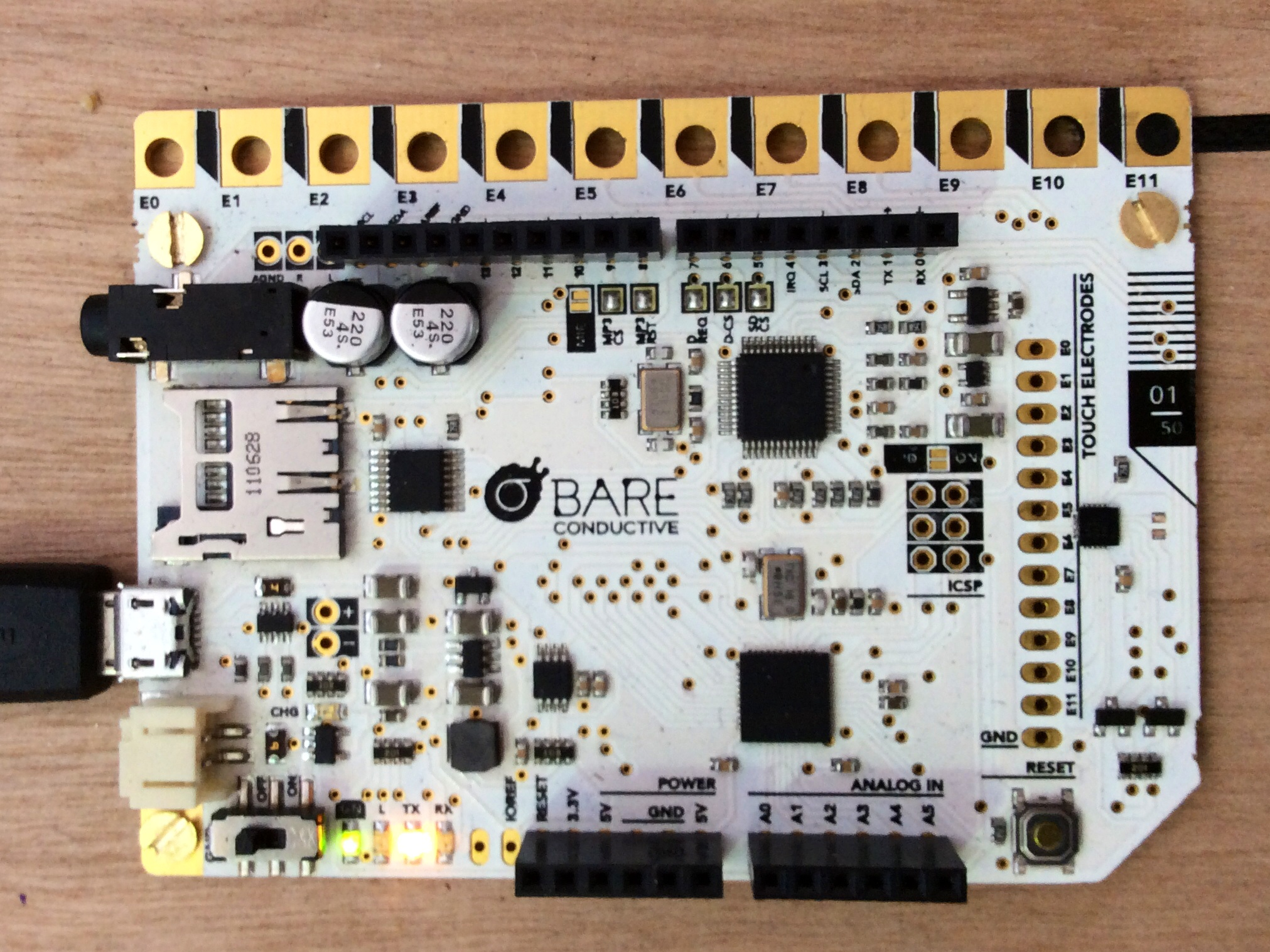 This Microcontroller is All About Capacitance