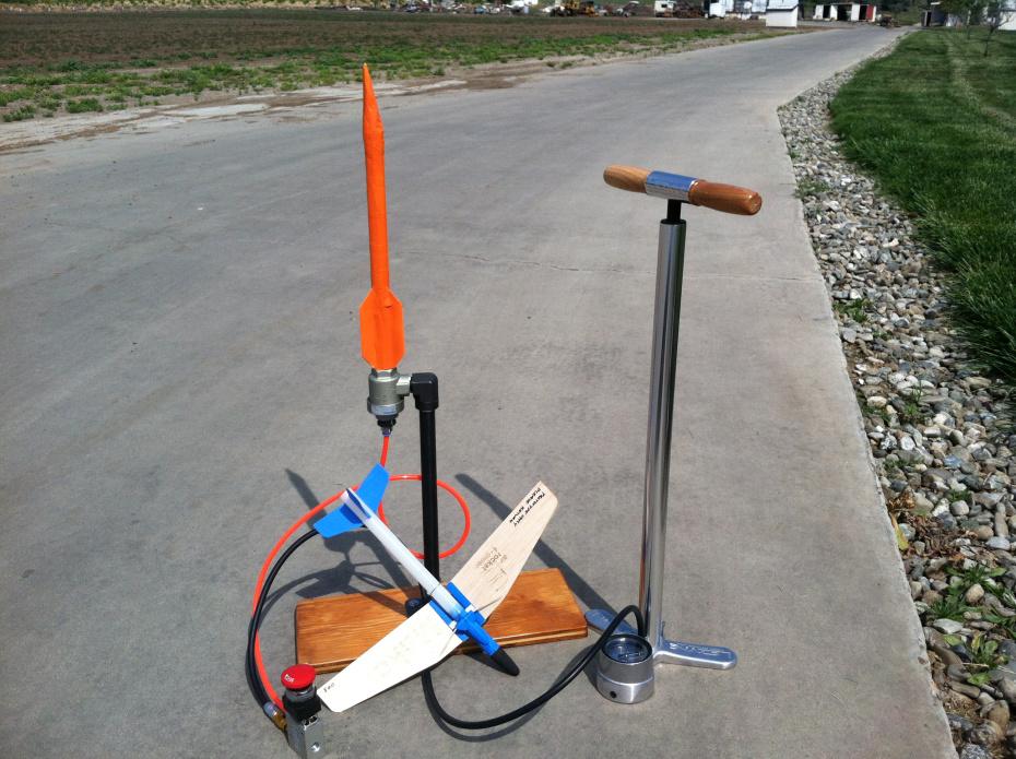 Air Rocket Glider and Air Rocket Launcher v2.0