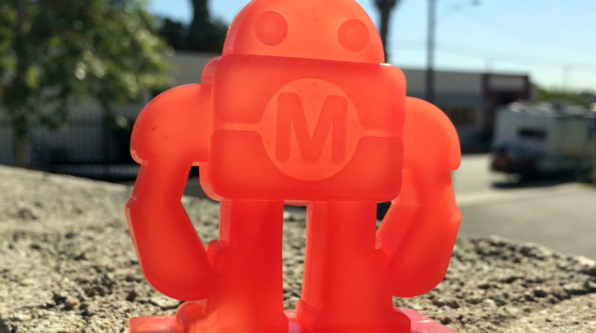 "Custom ""Makey"" Mold-a-Rama Toy"