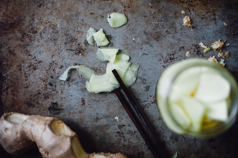 How-To: Pickled Ginger from Scratch