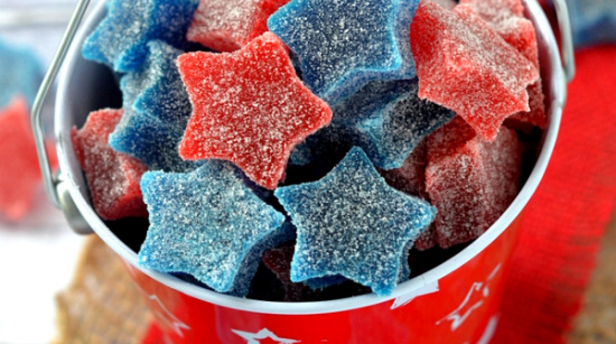 How-To: Star-Spangled Gumdrops