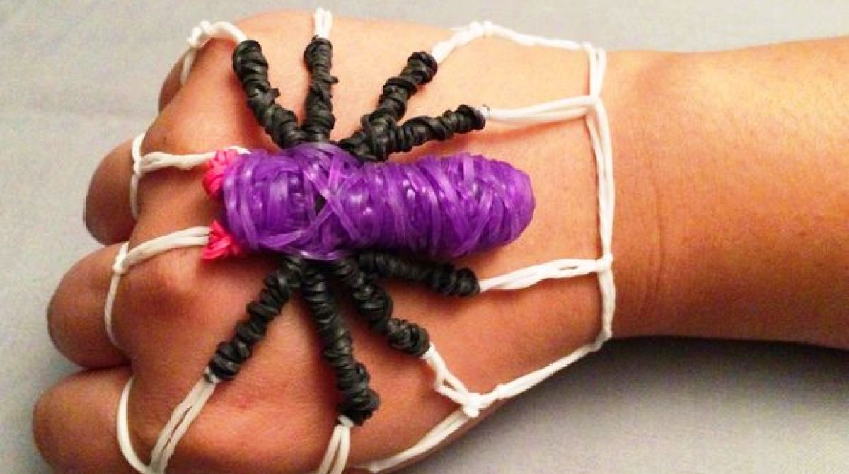 How-To: Spider Rubber Band Bracelet