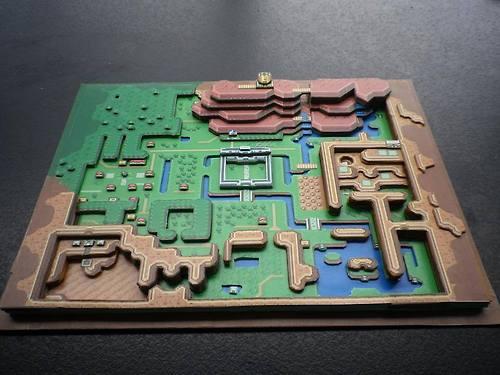 Classic NES Games In 3D Paper Dioramas