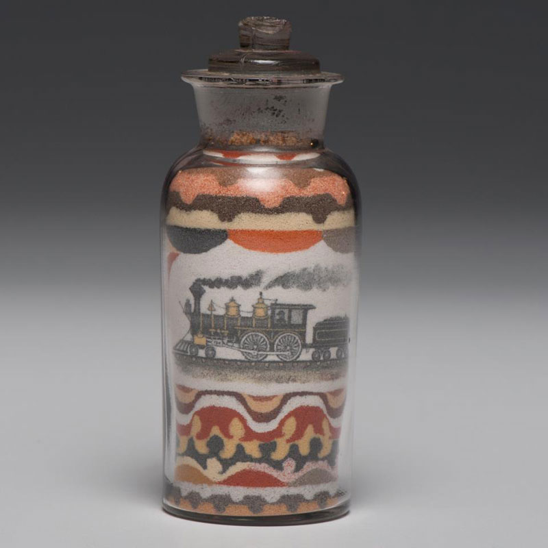 Unbelievable Bottled Sand Art from the 1800s