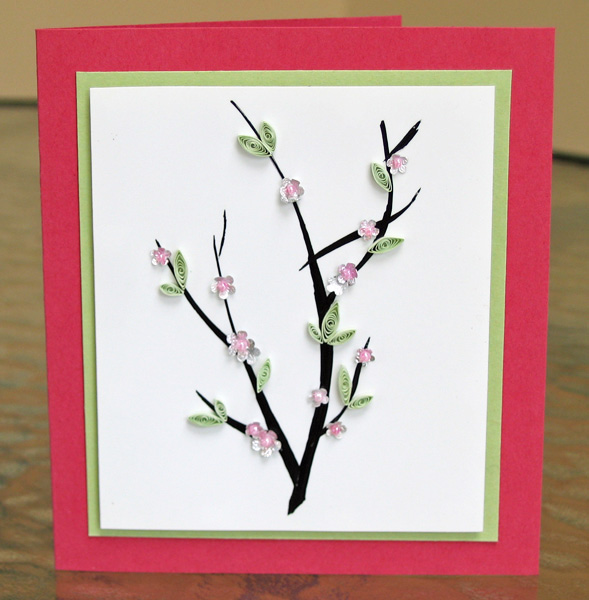 Flashback: Cherry Blossoms Card