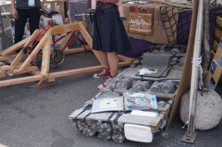 a junk raft