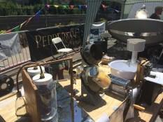 Bridgewire demonstrates solar cooking