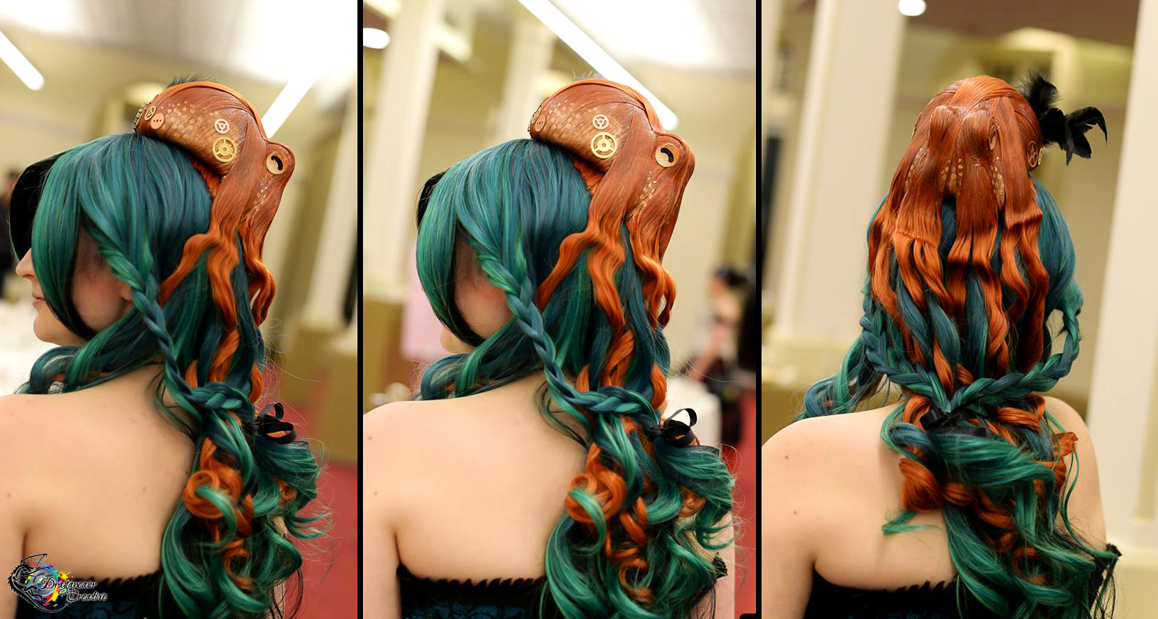 How-To: Octopus Hairpiece