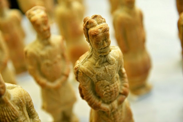 Chinese Terracotta Army Made From Pizza Dough
