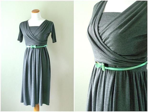 Summer Wardrobe: Two-Piece Knit Wrap Nursing Dress
