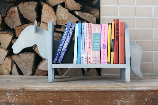 How-To: Mini Horse Bookshelf