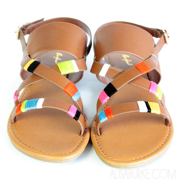 Fashion Inspiration: Thread-Wrapped Sandals