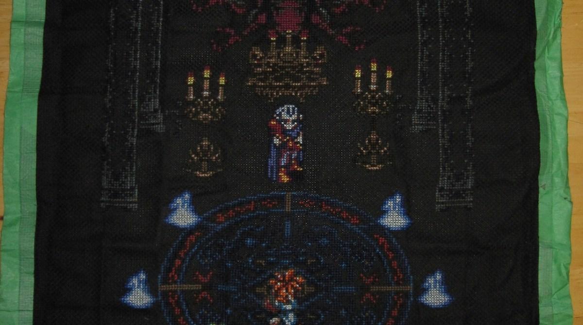 Chrono Trigger Cross-Stitch