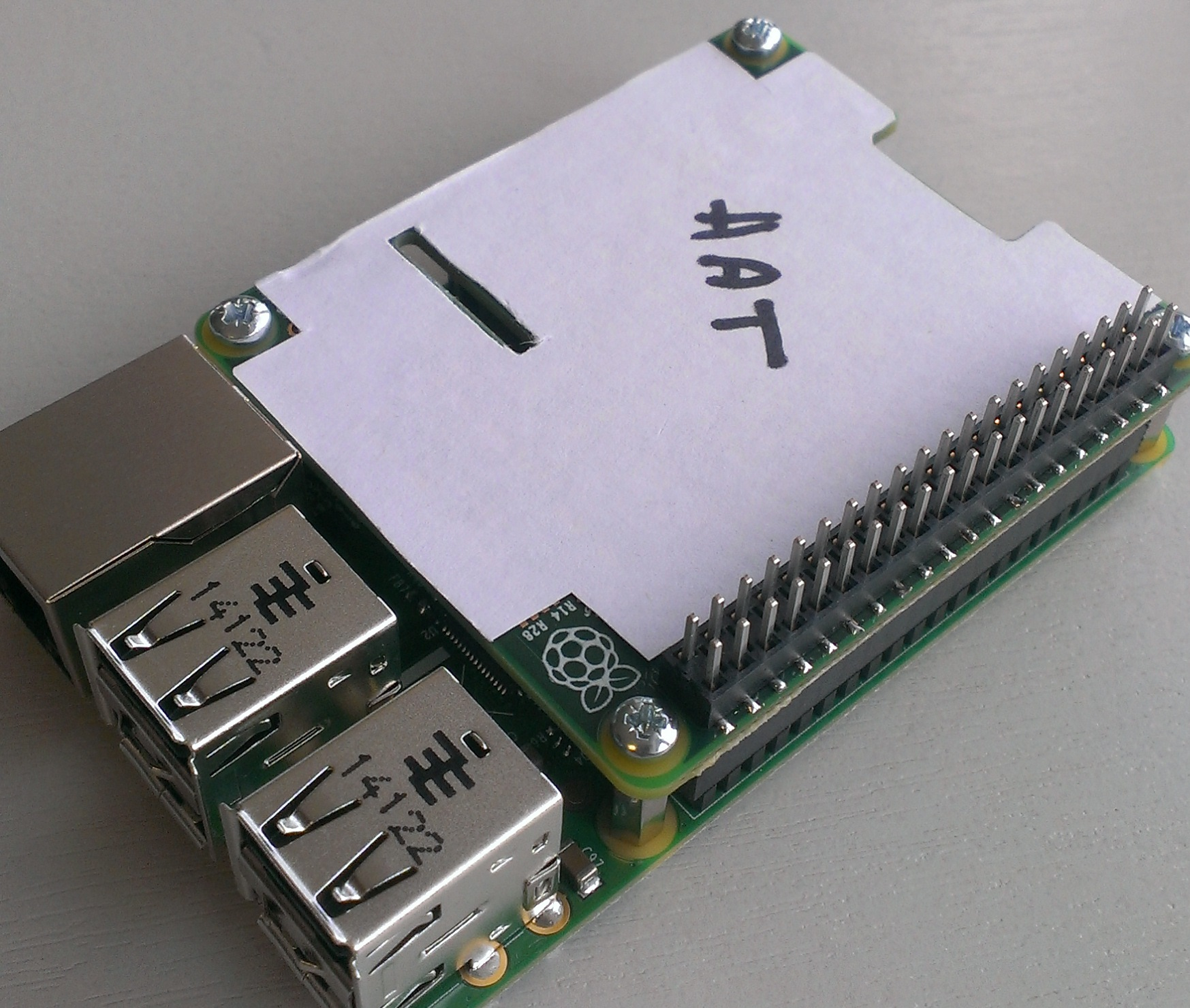 Raspberry Pi HAT Specification Released