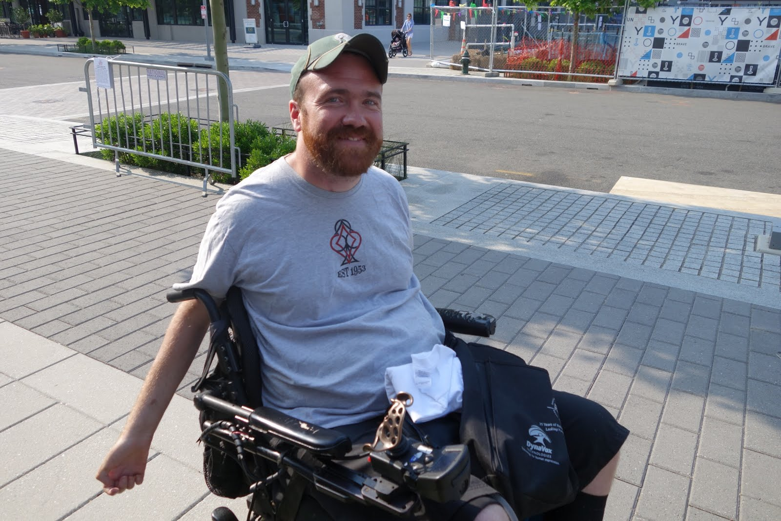 Joe Olson's DIY-Enabled Wheelchair