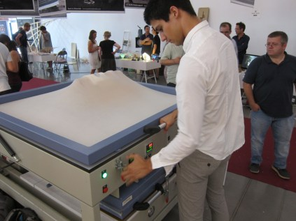 Super sexy vacuform machine by Global Vacuum Press