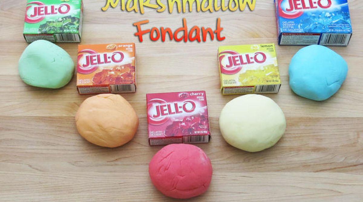 How-To: Jell-O Marshmallow Fondant