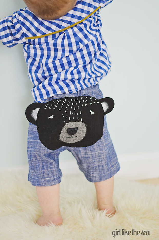 How-To: Bear Butt Baby Shorts