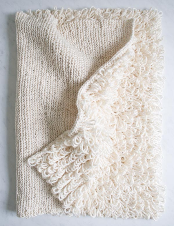 How-To: Knit a Loopy Bath Mat