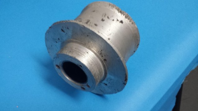 after some machining